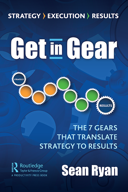 Get in Gear:  Paperback Edition
