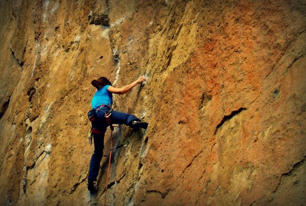 new climber