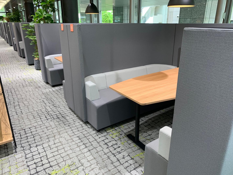 Combination high-backed Sofa:brackets <KOKUYO>