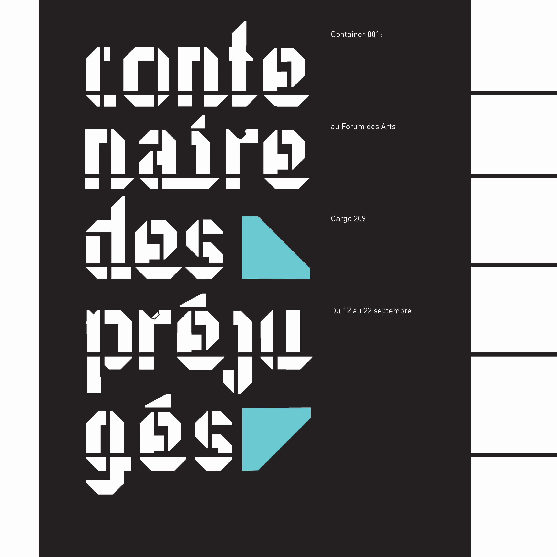 Typographie Numéro 2- Cargo Box