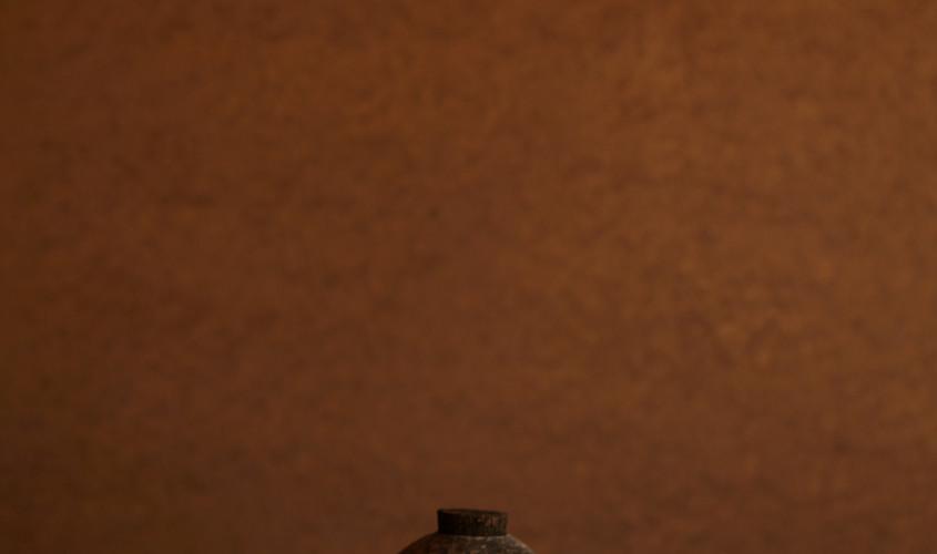 銀刻彩蓋器「影」