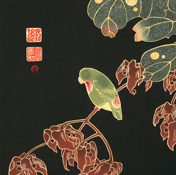 Woodblock Birds