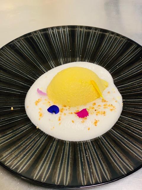 Crème de Citron floqué