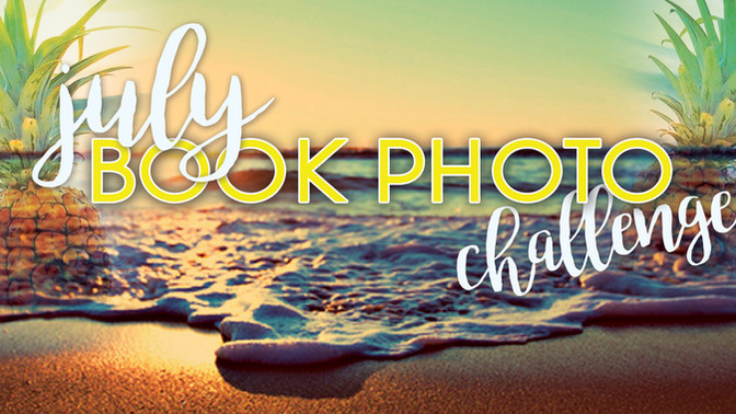 July Instagram Book Photo Challenge