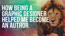 How being a graphic designer helped me become an author