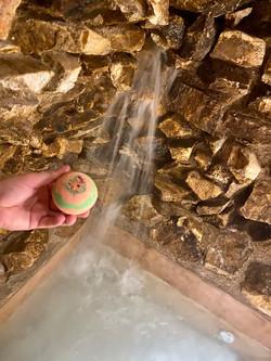 Jacuzzi Bath bombs aloe vera y rosas amarillas
