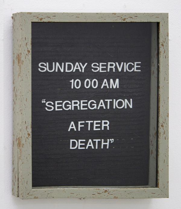 Segregation-After-Death