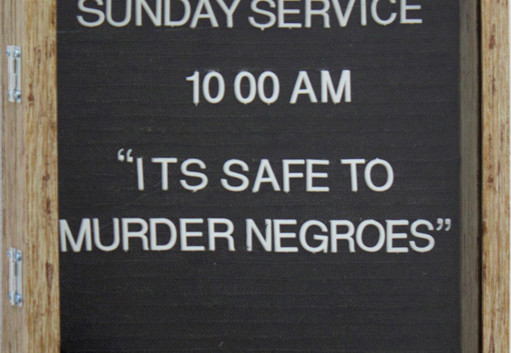 It's Safe to Murder Negroes