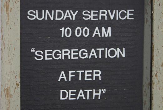 Segregation After Death