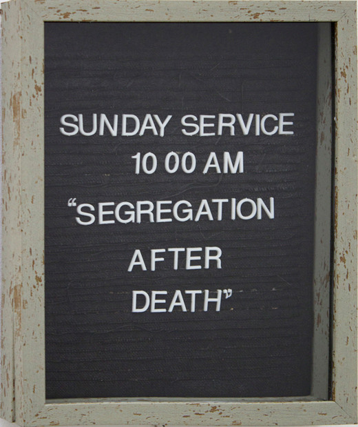 Segregation After Death