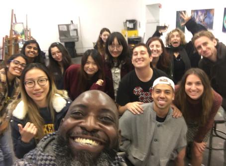 UC Berkeley Advanced Painting Class