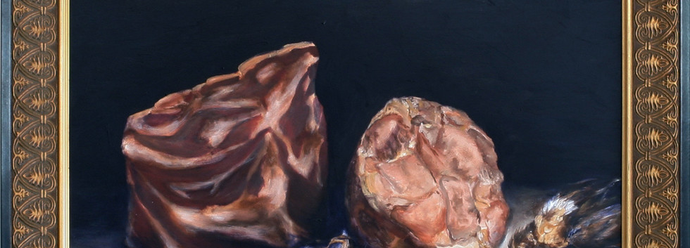 Stilllife with Prosciutto and Hogshead C
