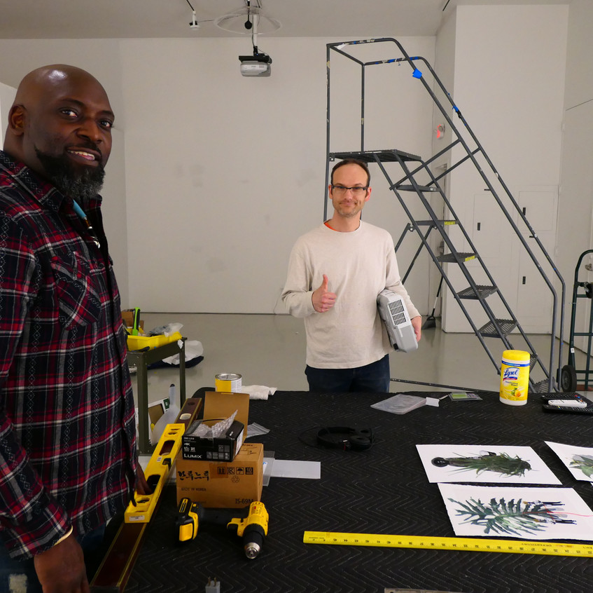 Chris Christion and Dion Johnson Install for Reflexive Remix