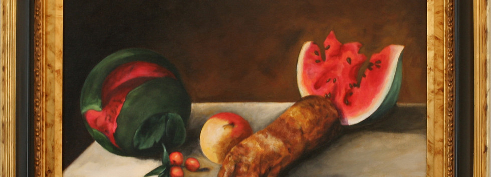 Still Life with Melon and Pigfoot.jpg