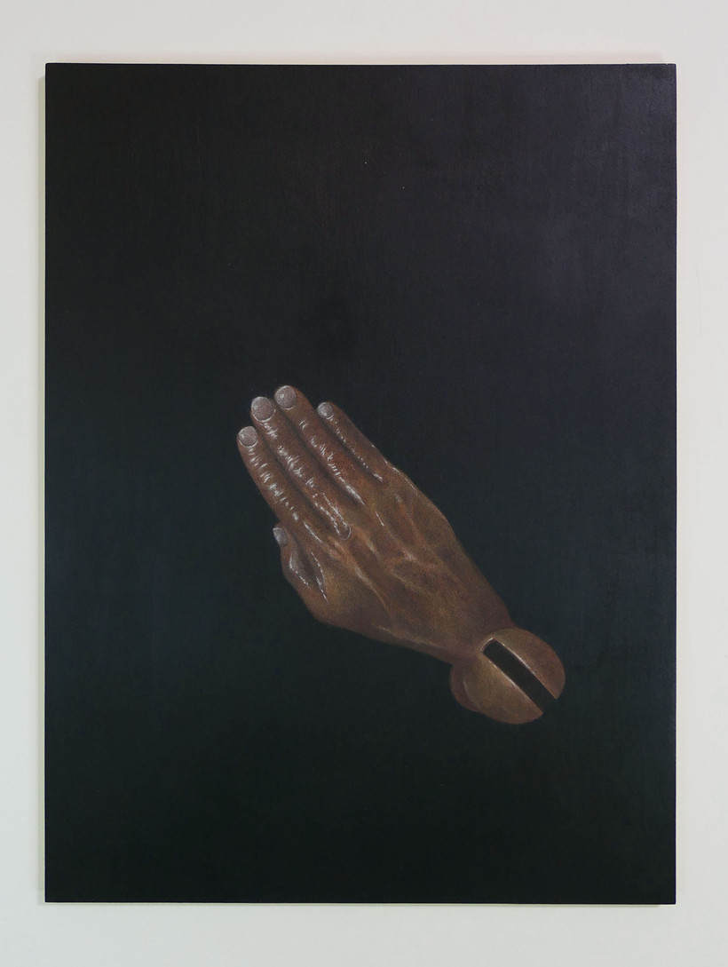 Slaluting Hand