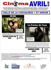 Cinéma Avril Chevalerie Saint-Amour