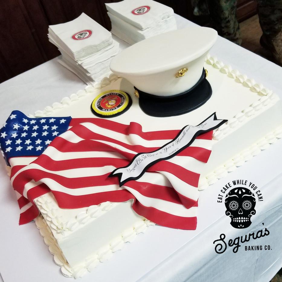 Marine Promotion Cake