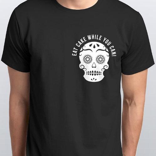 Black Men's Shirt with Skull on Side
