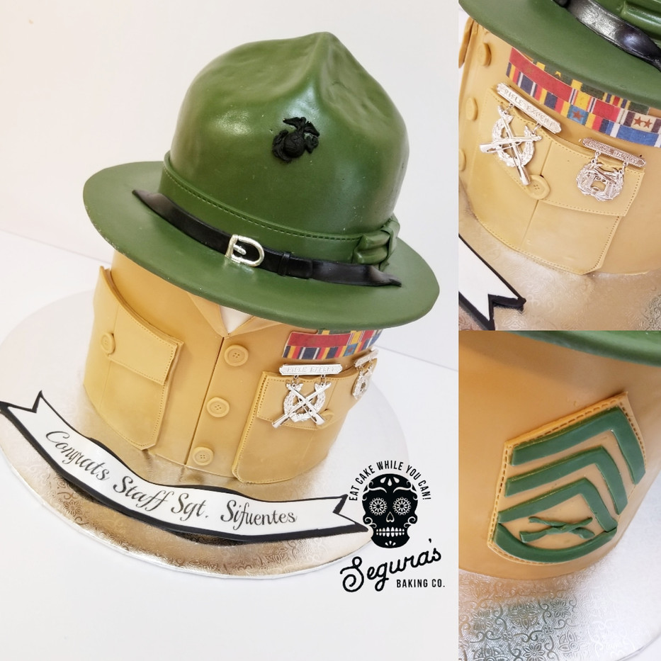 Drill Instructor Cake