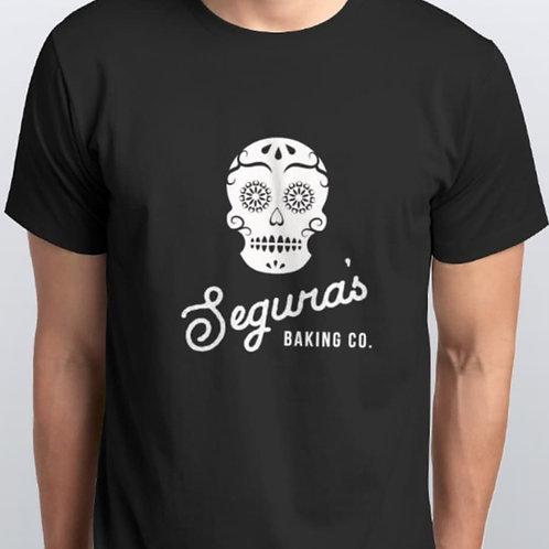 Black Men's Shirt with Skull