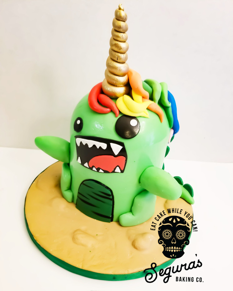 Unicorn/ Dino Cake