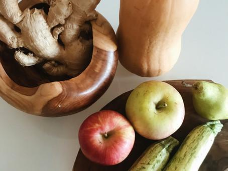 Φρούτα και λαχανικά του φθινοπώρου