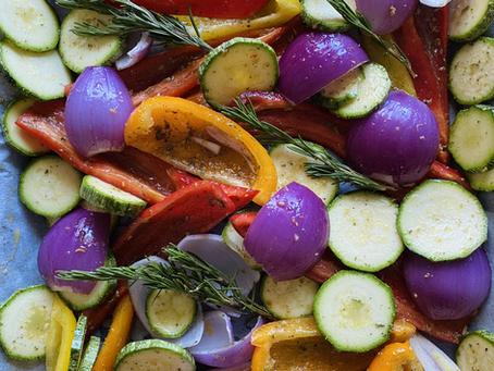 Meal Prep: Λαχανικά στο φούρνο