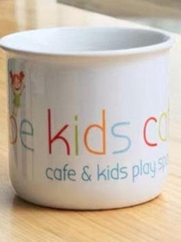 White Ceramic Mug | BKC logo
