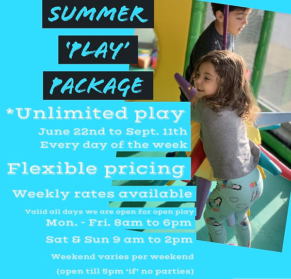 Summer 'PLAY' Package
