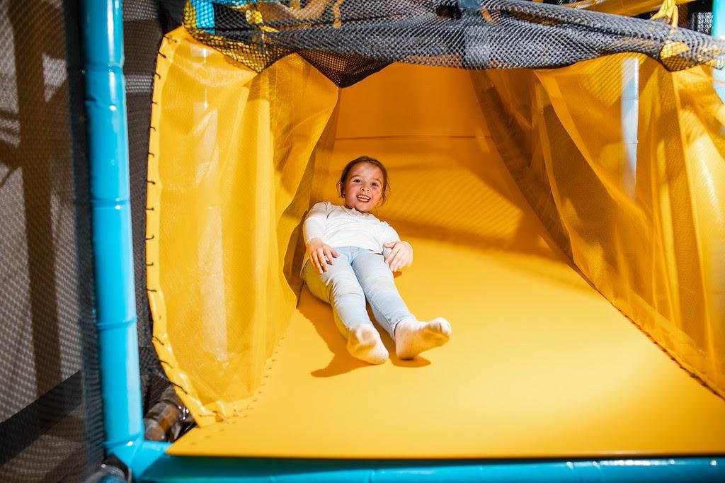 The Yellow Speed Slide!