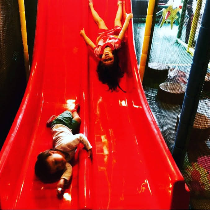Double Red Slide!