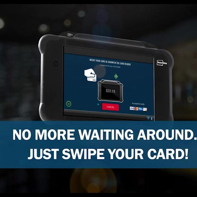 Buzztime Tablet Promo
