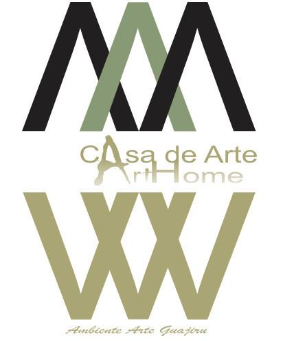 Logo casa de arte Guajiru