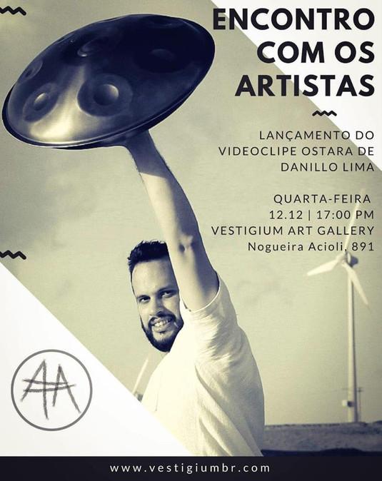 DaniloyLima no Encontro com os Artistas.