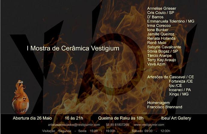I Mostra de Cerâmica Vestigium