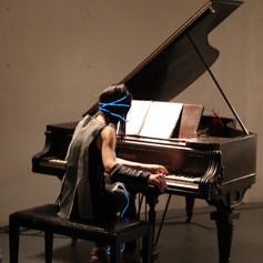 illuminated piano suit