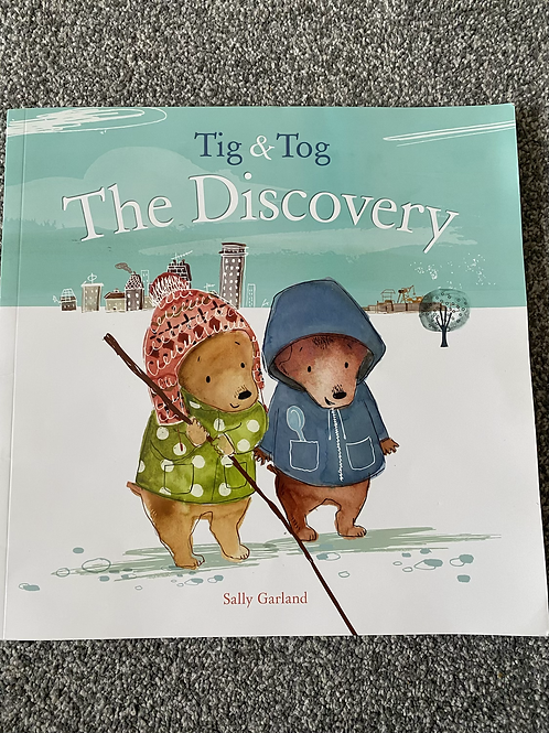 Tig & Tog The Discovery book