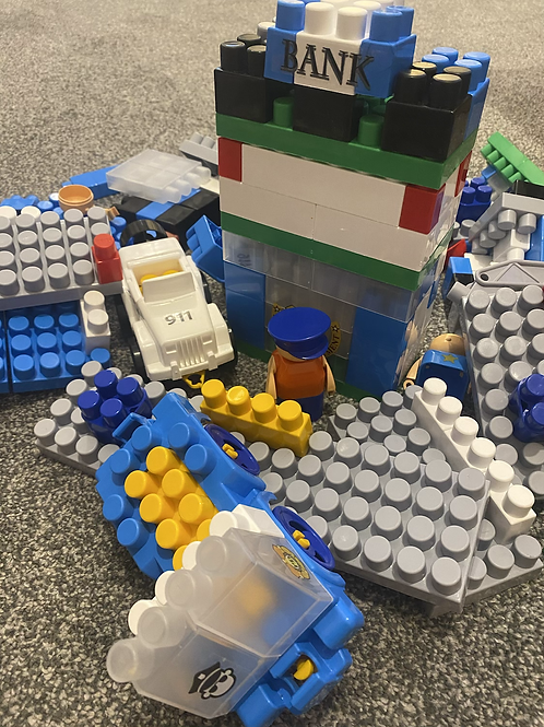 Bundle of Police Building blocks