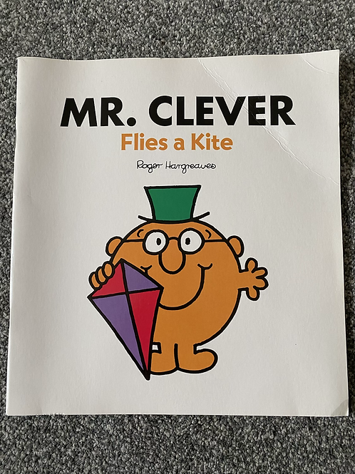 Mr Clever Flies a Kite Book
