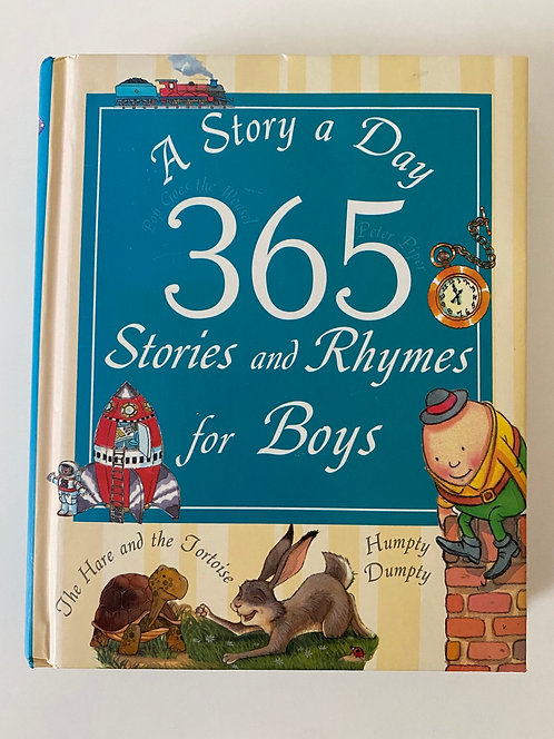 A story a day 365 stories & Rhymes for Boys