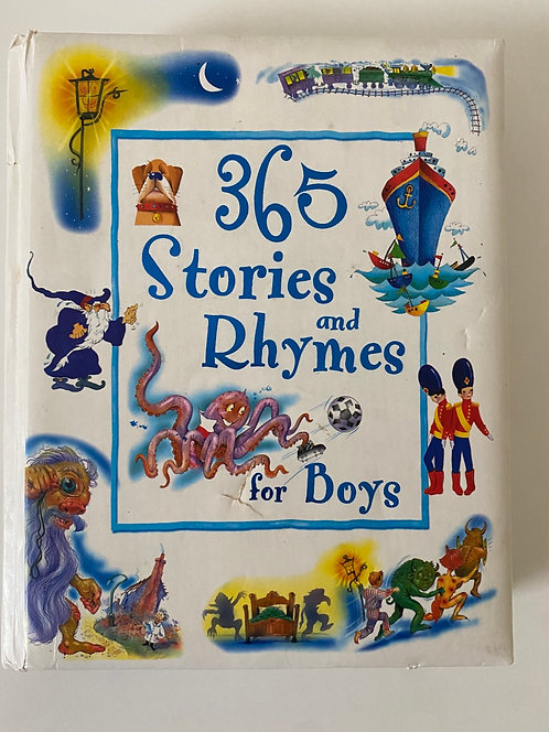 365 stories & Rhymes for Boys Book