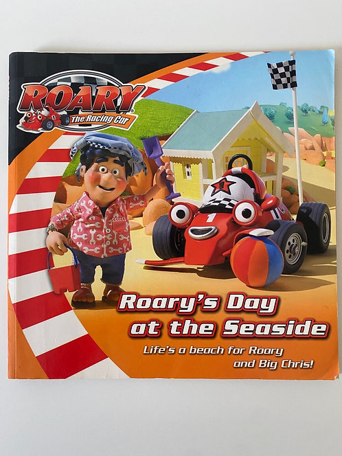 Rory the racing car roarys day at the seaside