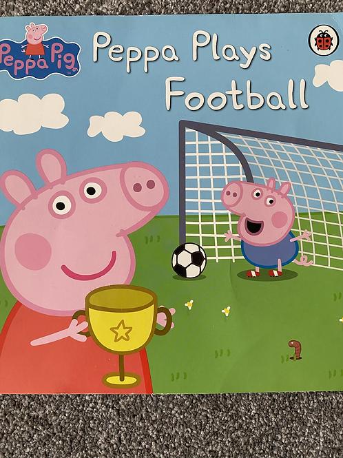 Peppa Plays Football Book