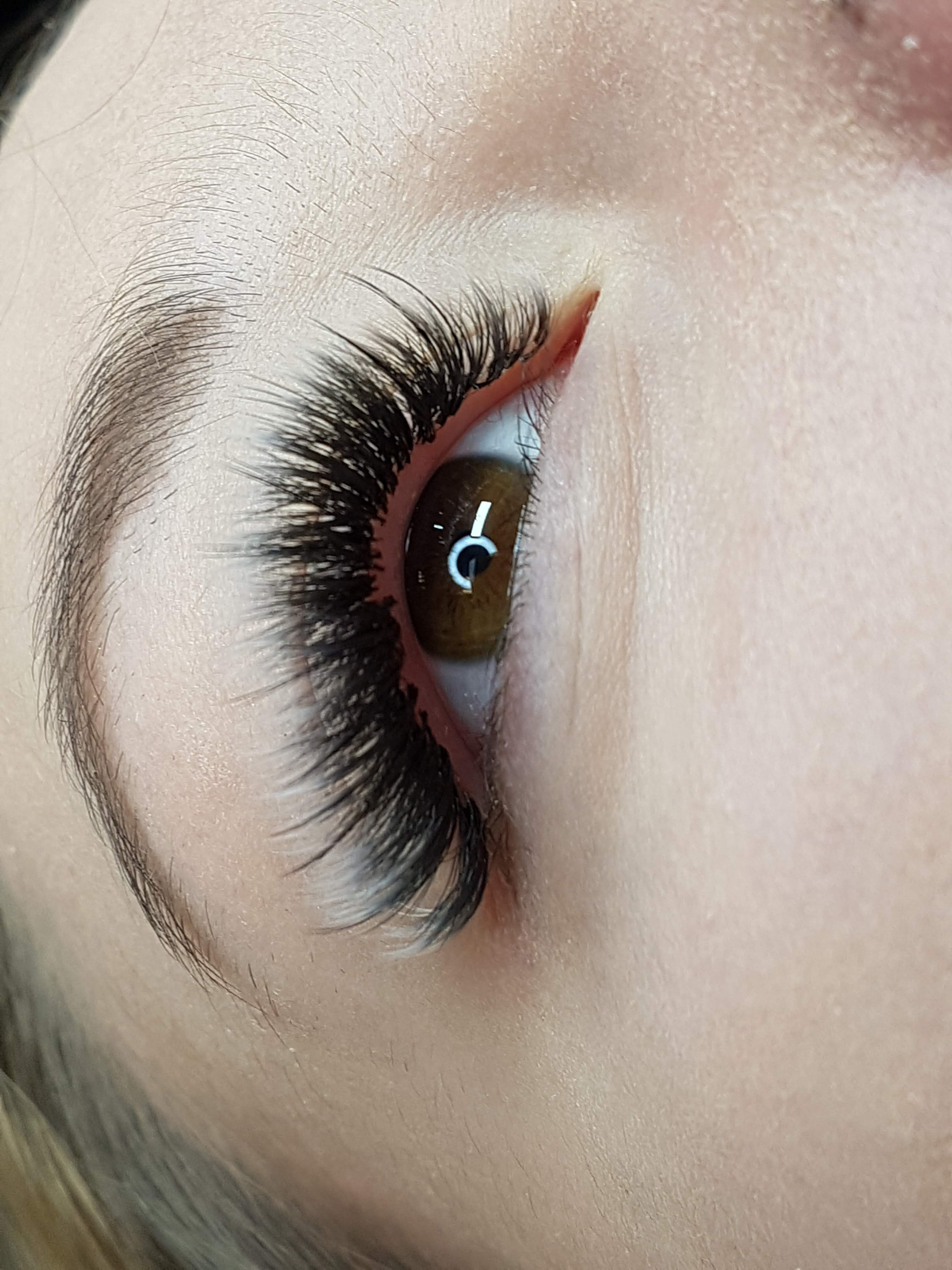 Ombre Wimpern