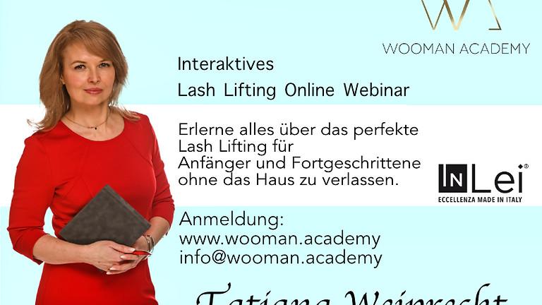 Lash Lifting Online Webinar (onDemand)