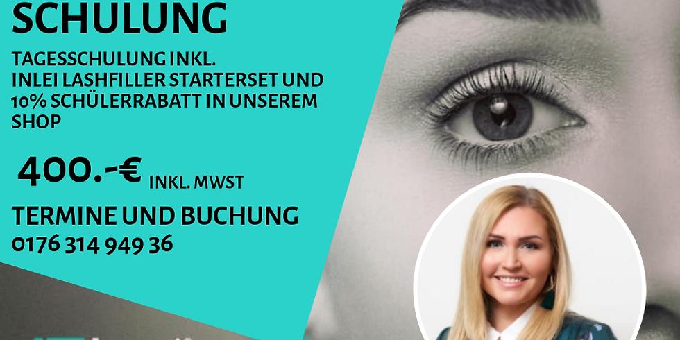 InLei Lashfiller Schulung in Nürnberg inkl. großem InLei Starterset
