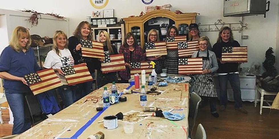 American Flag Workshop $45