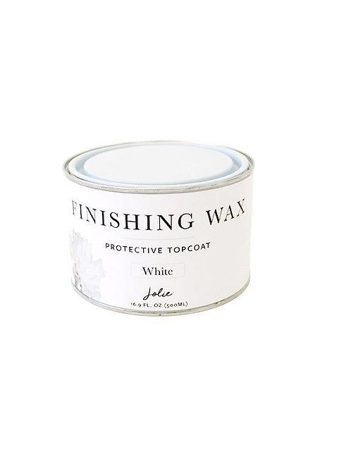 Jolie White Finishing Wax