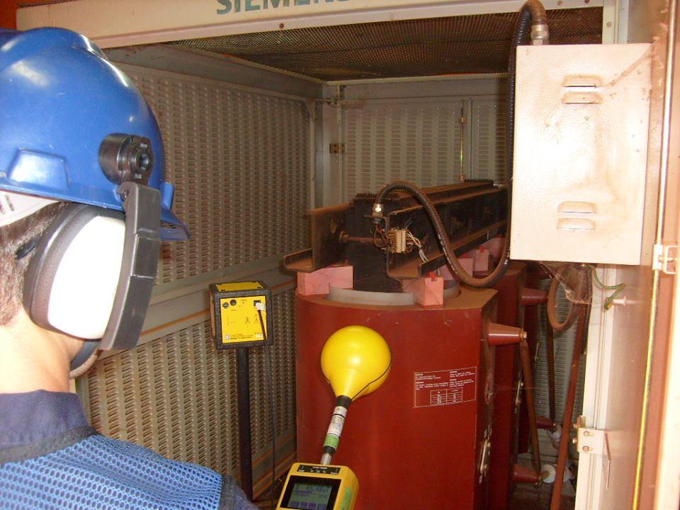 Medição de campos magnéticos em frequência industrial