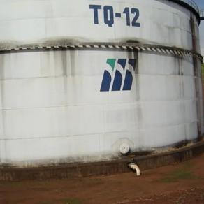 SPDA em tanques de armazenamento metálicos